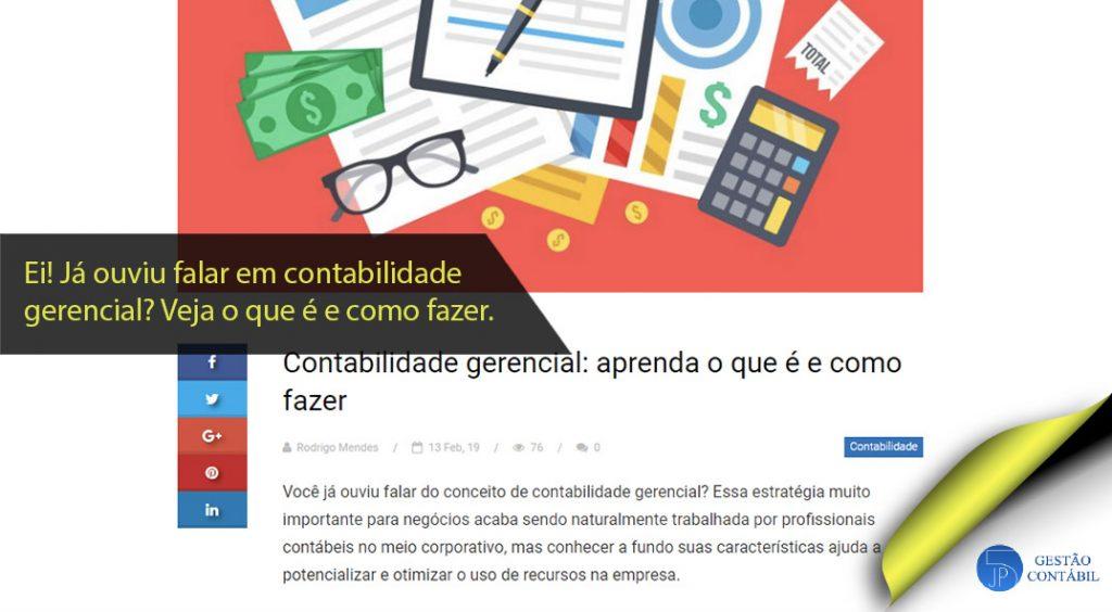 Contabilidade gerencial: aprenda o que é e como fazer #negócios #contabilidadebasica #acessoriacontabil #escritoriodecontabilidade #contabilidadegerencial (TOP 5 – Mar)
